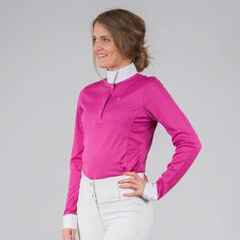 029f4fa0 Horze Blaire langermet teknisk stevneskjorte til dame